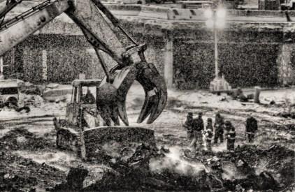 Blizzard at Ground Zero