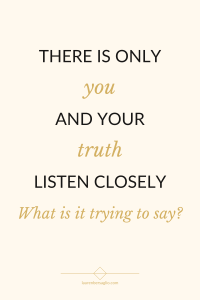 have you ever felt trapped? listen to your inner truth quote