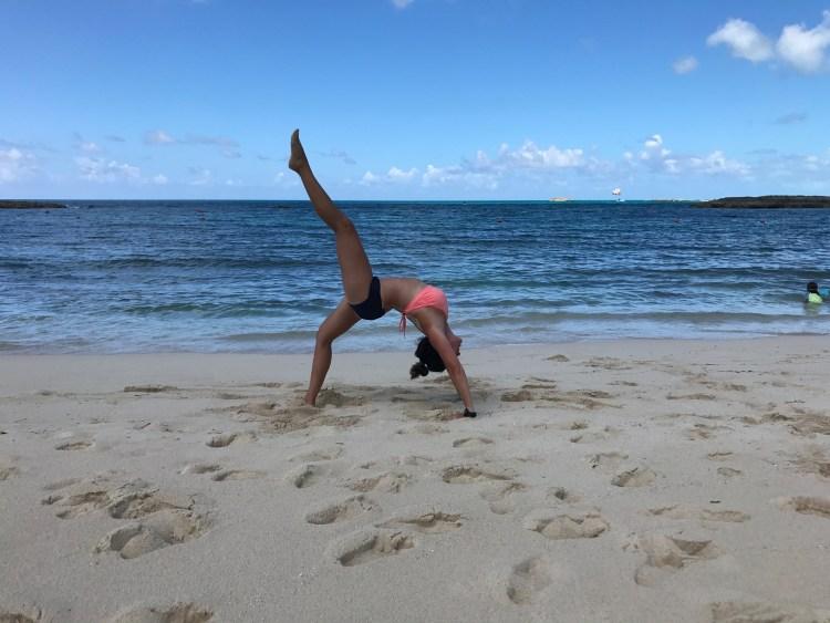 yoga in Atlantis