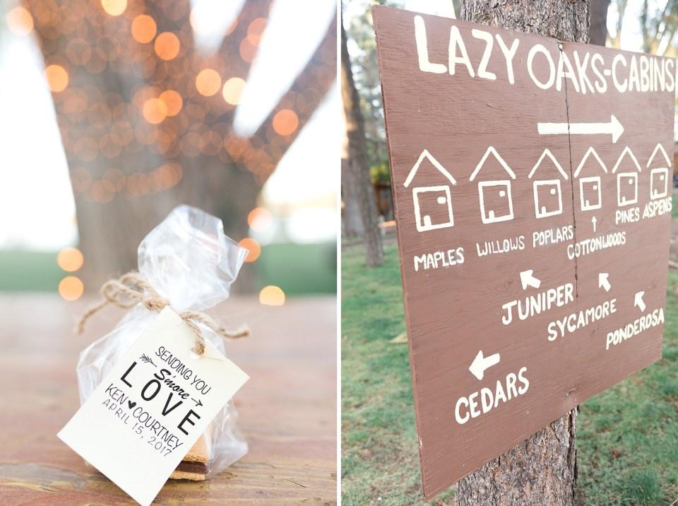 Pinetop Wedding, Northern Arizona Wedding Photographer, Lakeside Wedding, Woodsy Wedding, Smores Wedding Favors, Smores Wedding Favor