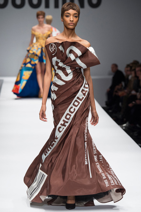 fashion is sweet - moschino fall 2014