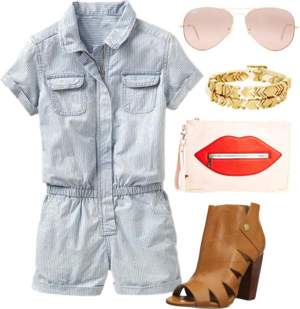 romper outfit idea