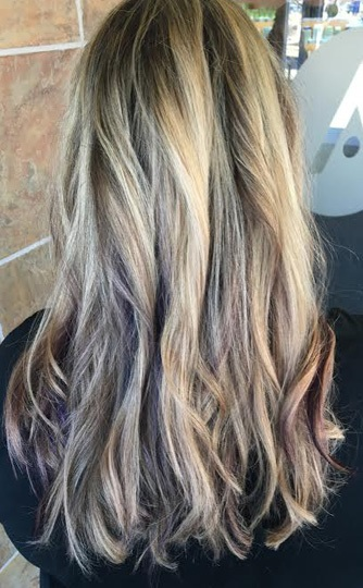 subtle-violet-peekaboo-highlights