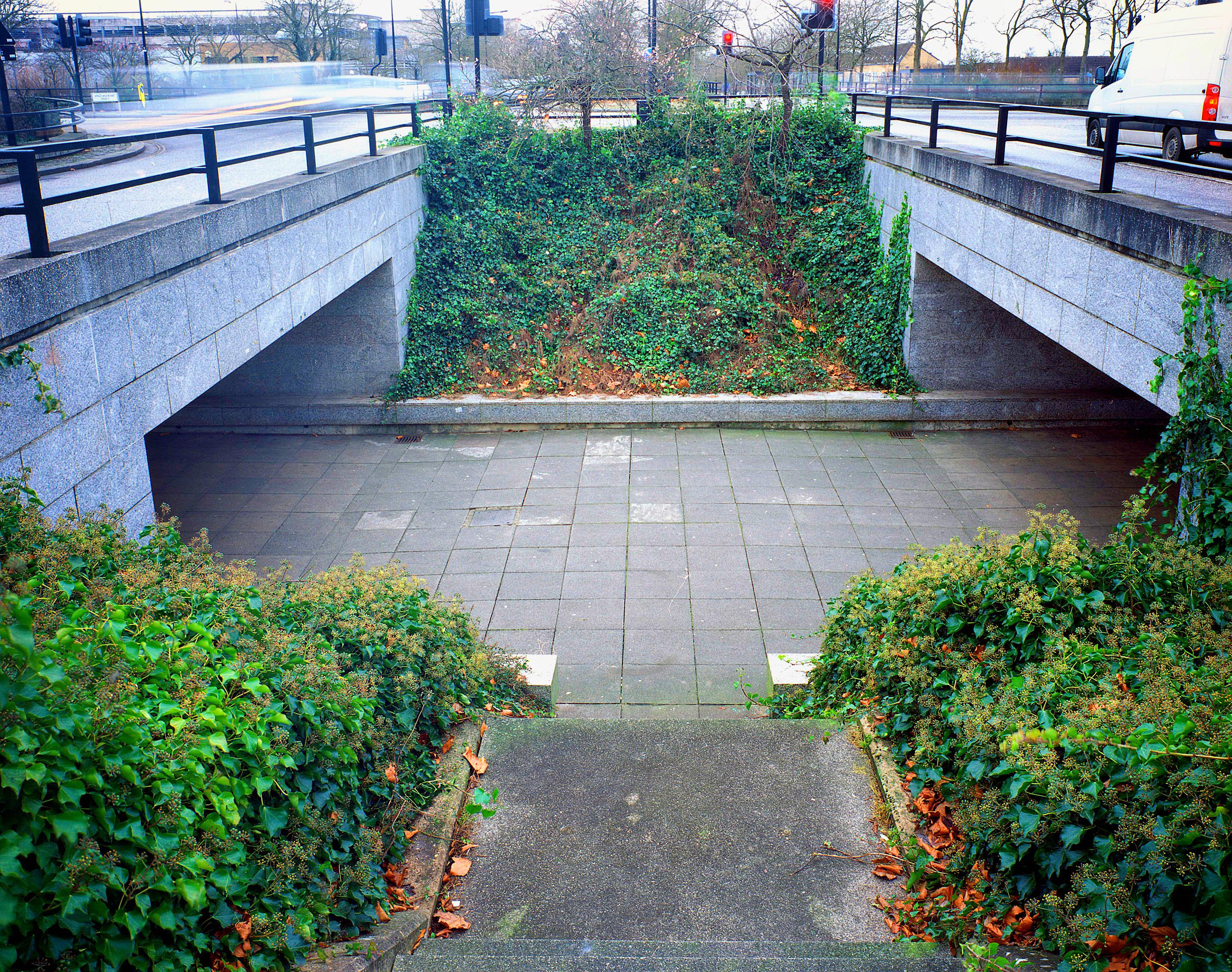 Underpass in Milton Keynes