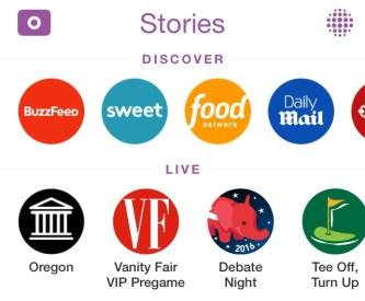 Snapchat Live Stories