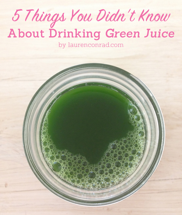 Clean Machine: 5 Things to Know About Drinking Green Juice