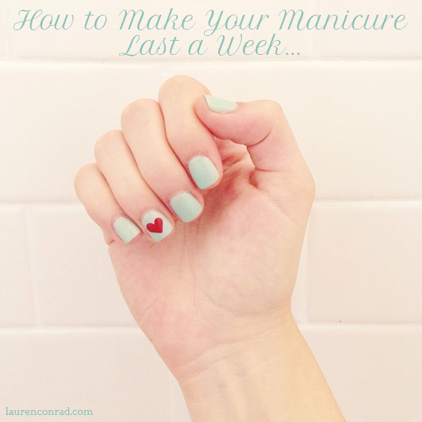 Nail Files The Secret To A Seven Day Manicure