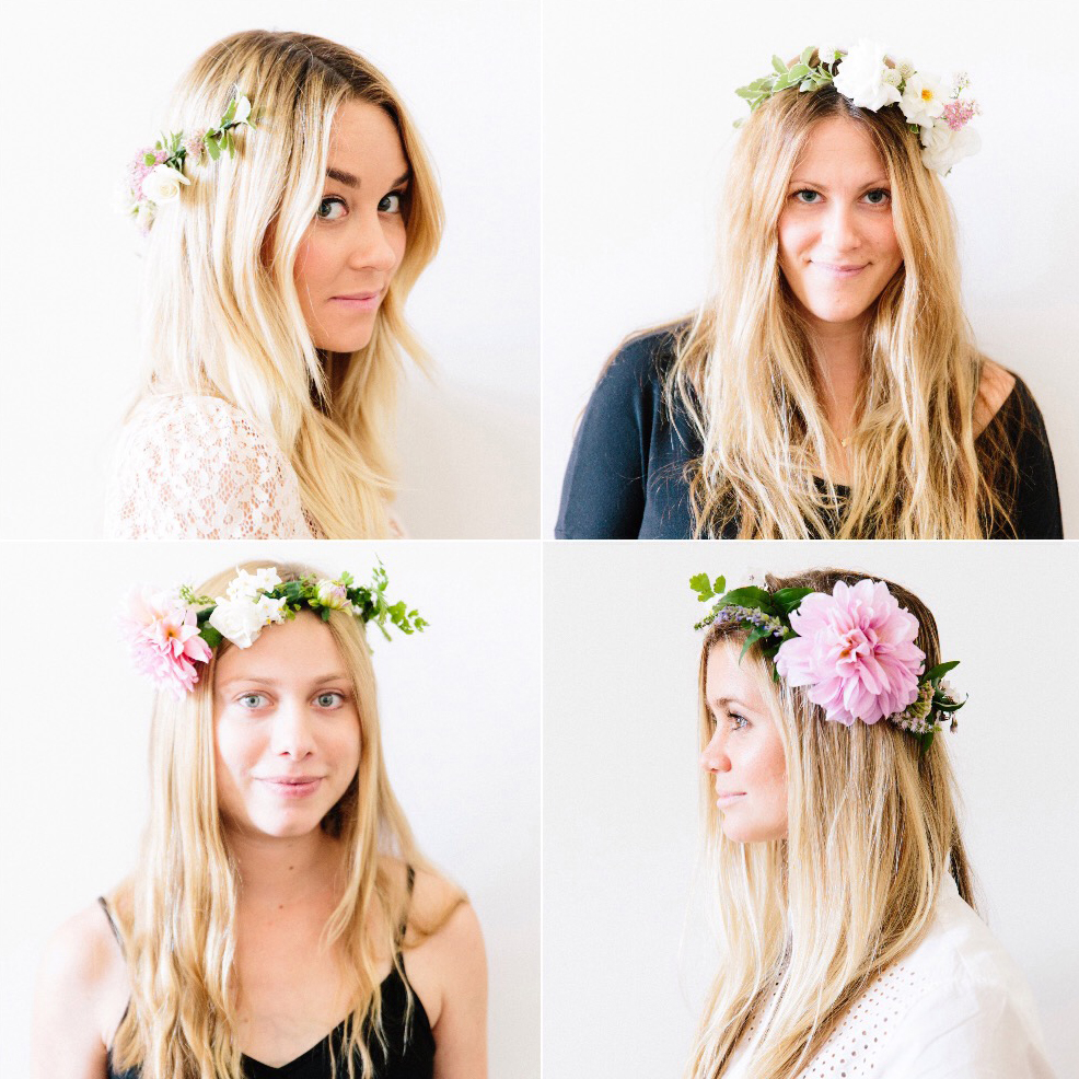Easy flower crown hairstyles hrotelrehberii diy how to make flower crowns izmirmasajfo