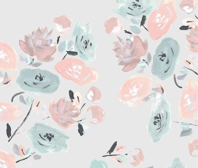 Dark Floral Iphone Wallpaper
