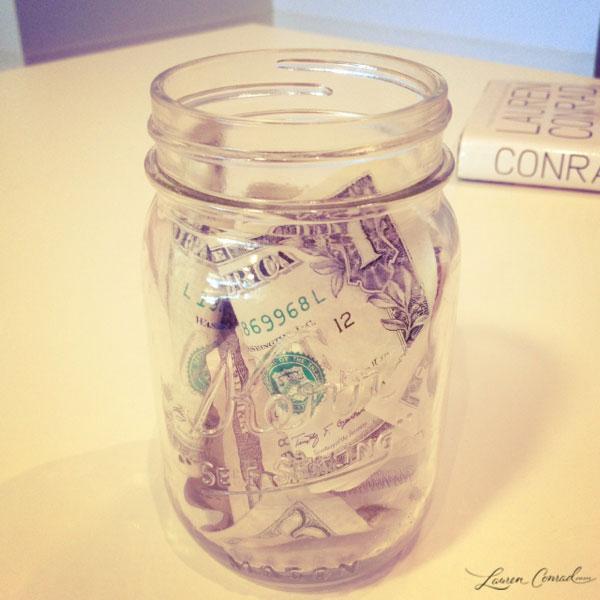Slim Tip: Keep a Motivational Money Jar!