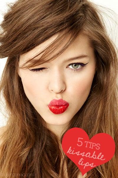 Pucker Up 5 Tips For Kissable Lips Lauren Conrad