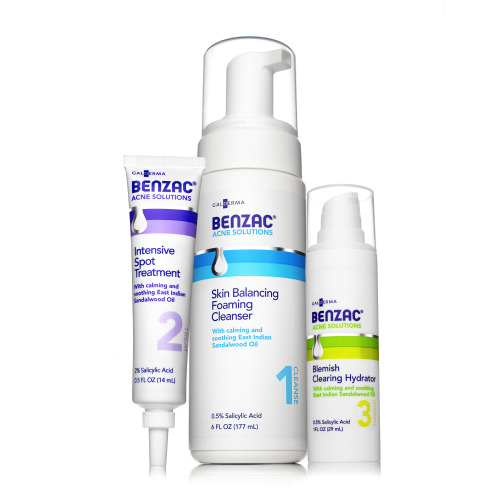 InternDIVA: Tries Benzac's 3 Step Skin Care Regimen