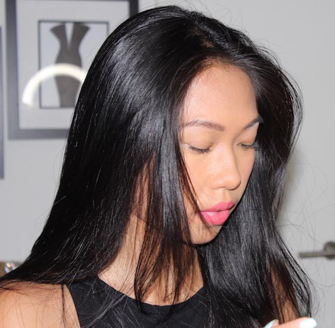 13 melanie mini makeover lashes pre lashes 2