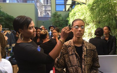 The Dish with DDR: Backstage with INGLOT at Cristina Ruales NYFW SS16
