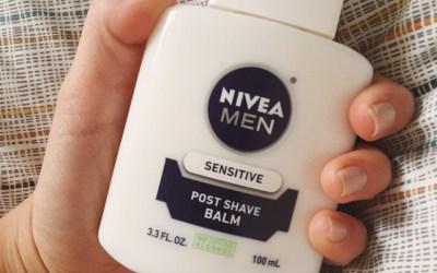 Nivea Men's Post Shave Balm: After Shave or Makeup Primer?