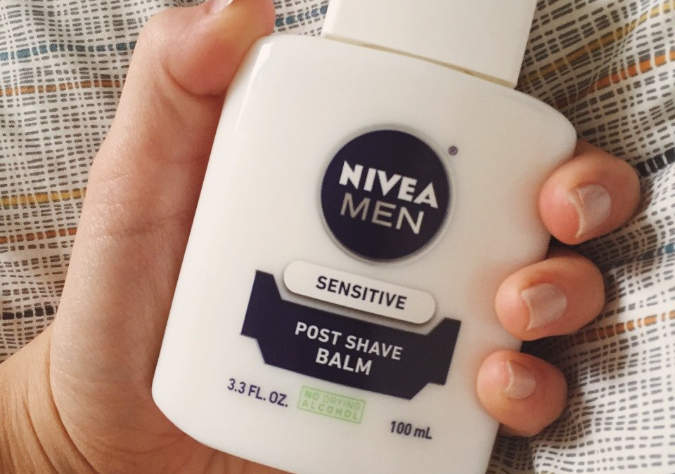 Nivea Men's Post Shave Balm: After Shave or Makeup Primer?