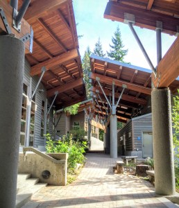 Environmental Learning Center buildings