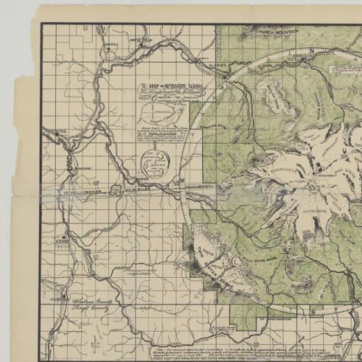 1912 Mount Baker map