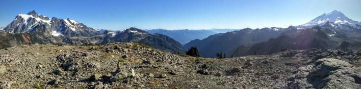 Mount Baker and Mount Shuksan