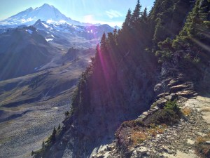 Mount Baker from Table Mountain trail