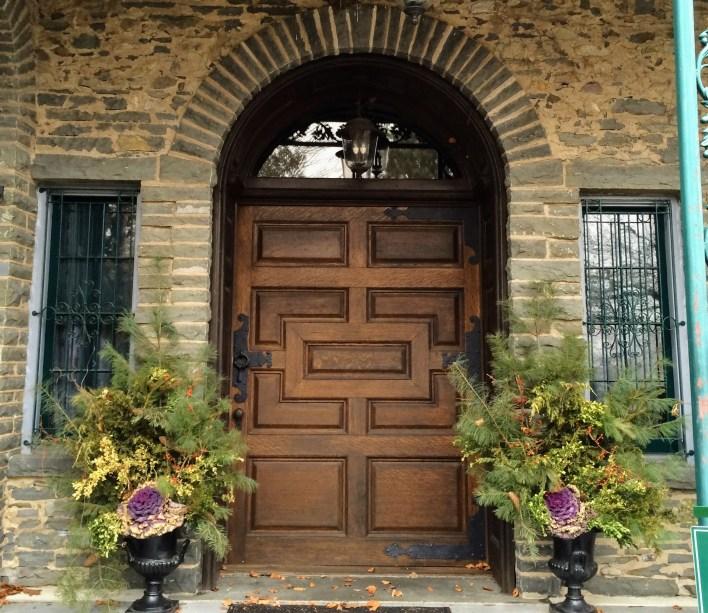 Front door of Grey Towers