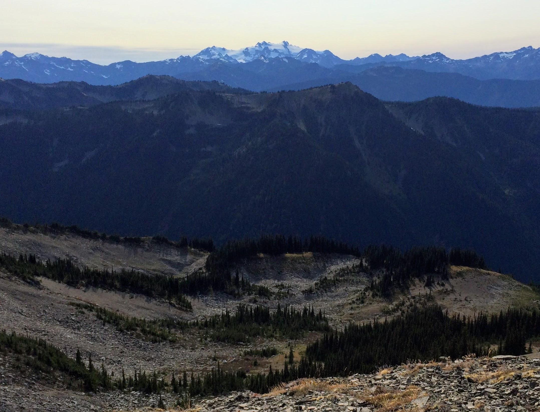 Mount Olympus from Lillian Ridge