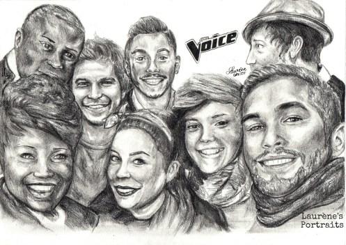 Finalistes The Voice 2014