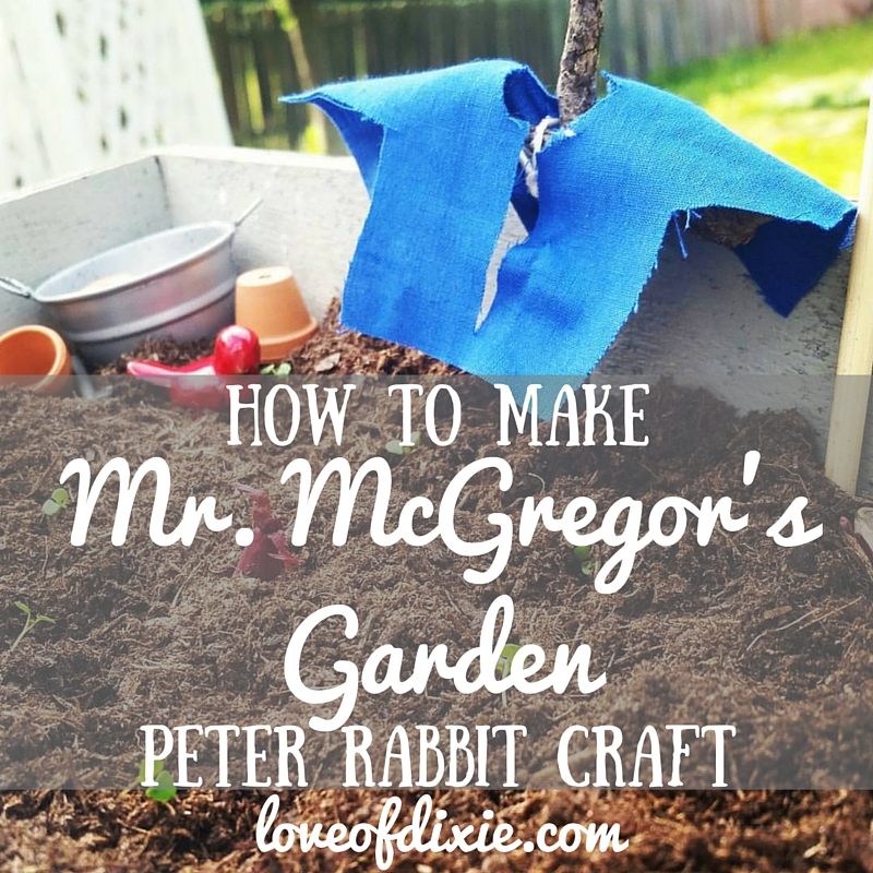 how to make mr mcgregor s garden a simple rabbit craft