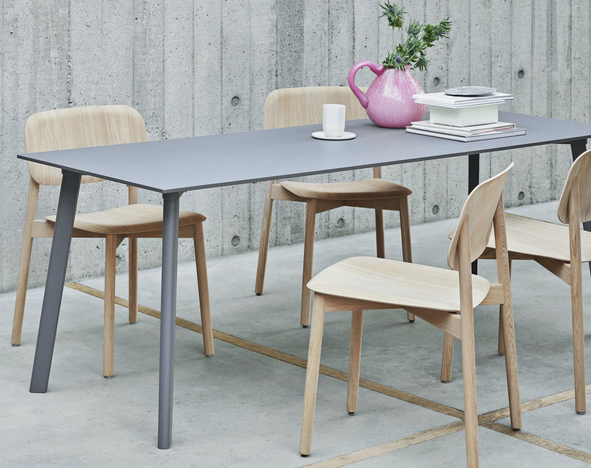 HAY contemporary modern industrial interior design