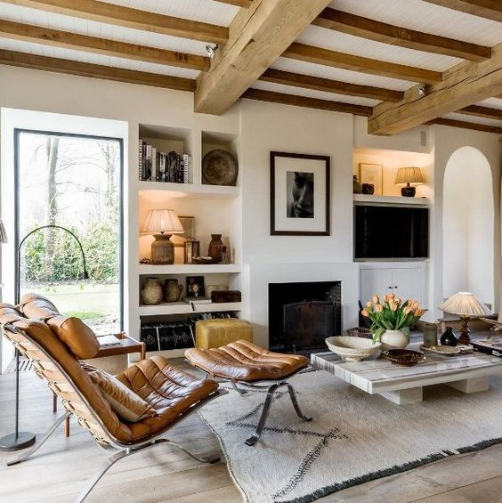Belgian interiors inspiration natural finishes cosy