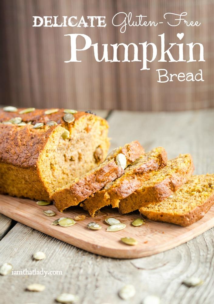 Gluten Free Pumpkin Bread Recipe