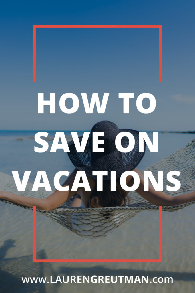 how to save on vacations