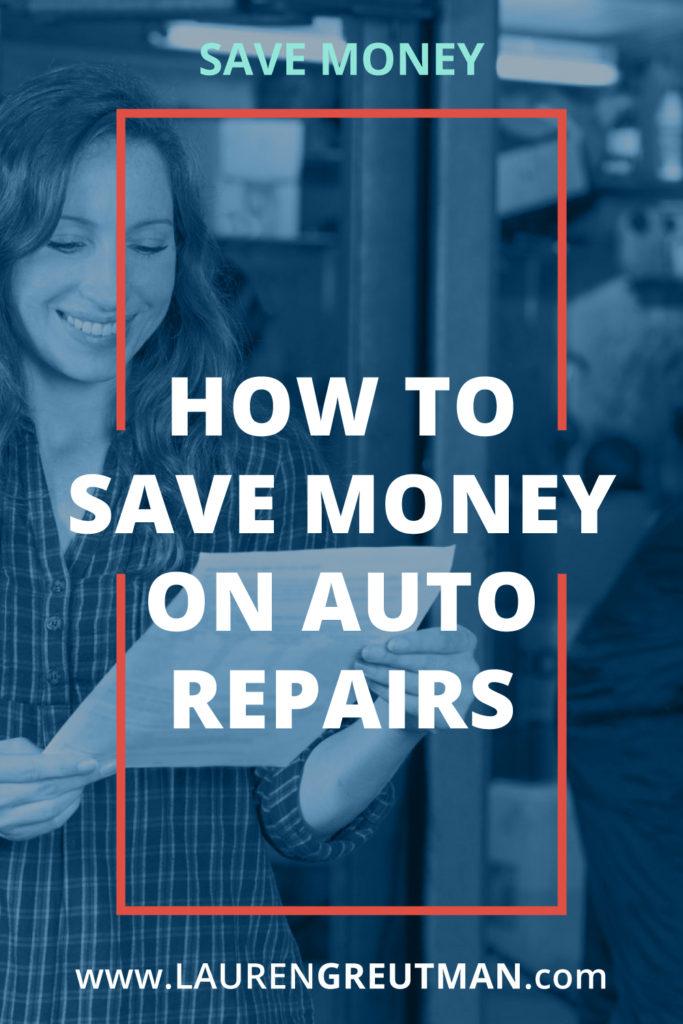 save money on auto repair