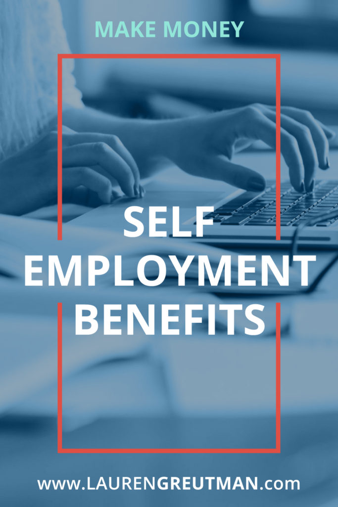 advantages and disadvantages of self employment