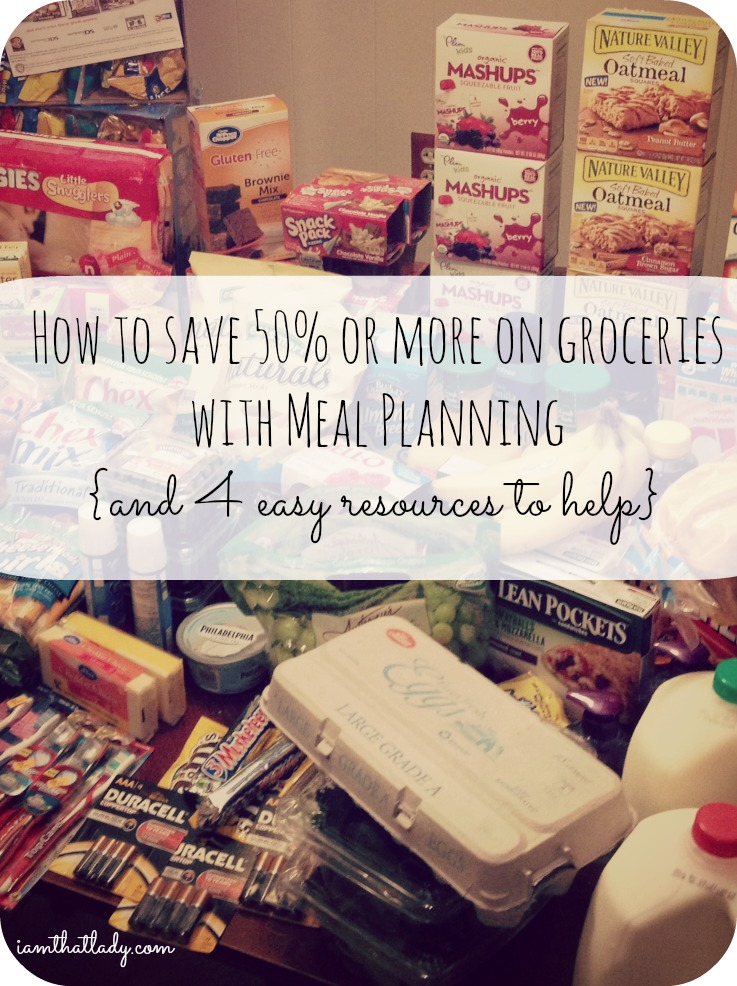 Are you wondering how to save money on your groceries? Meal planning could be your answer - save 50% or more every week with these tips!