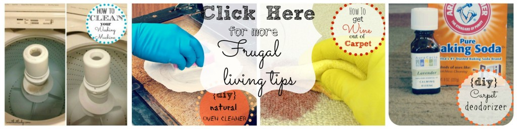 Frugal living tips - helping you save money on everything!