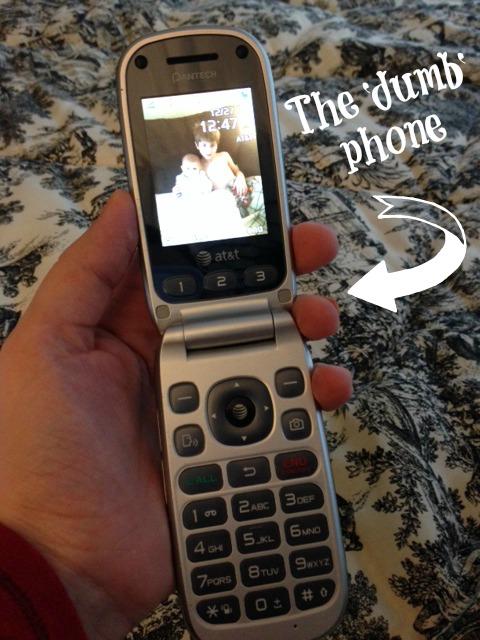 The dumb phone
