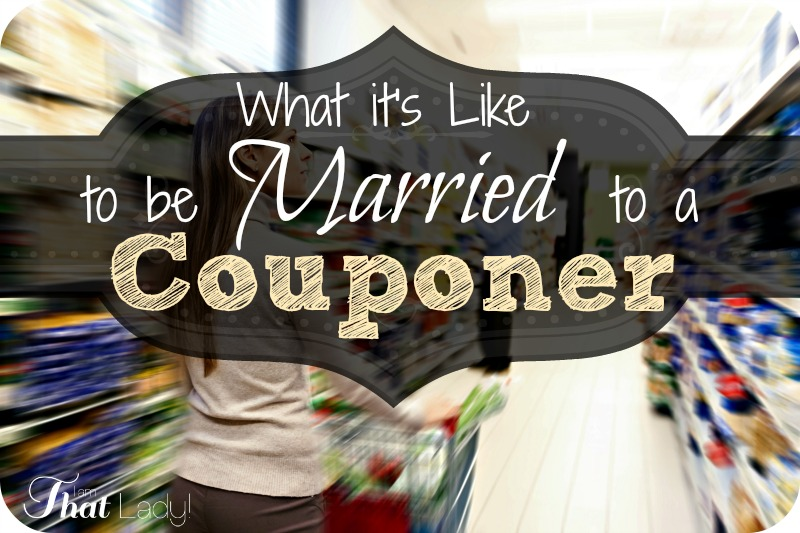 What it's like to be married to a couponer