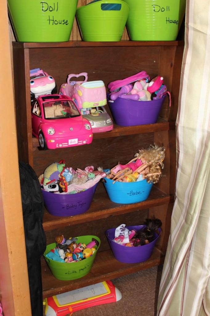 organizing shelf