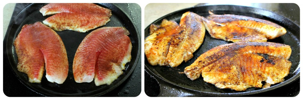 Cooking Tilapia in Cast Iron
