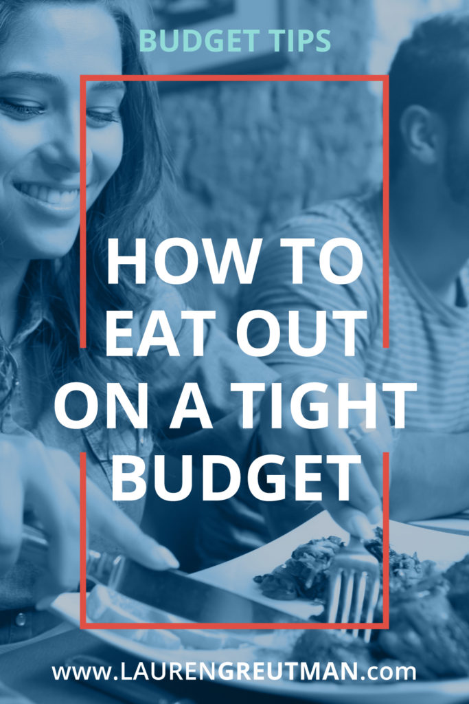 eat out on a budget