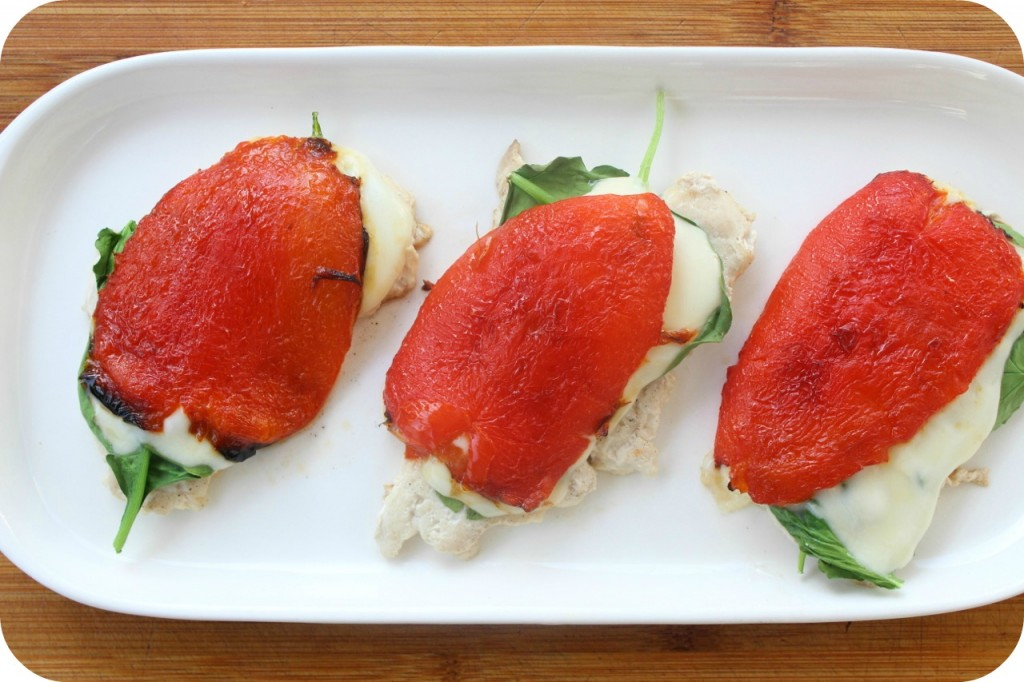 roasted red pepper chicken recipe