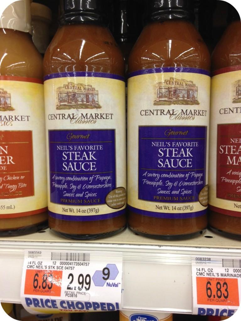 Central Market Neils Favorite Steak Sauce
