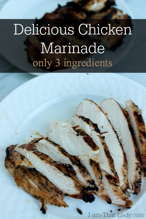 3 ingredient chicken marinade