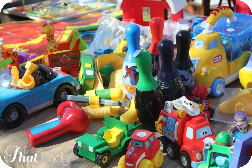pricing garage sale items