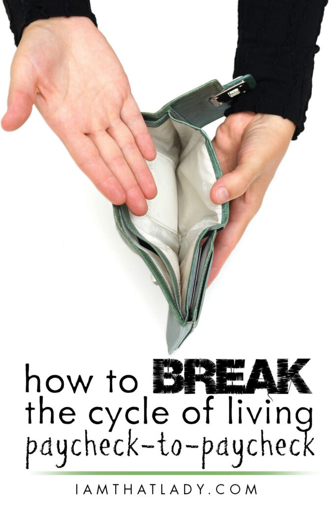 Stuck living paycheck to paycheck? I've been there. But here's how to finally BREAK FREE!