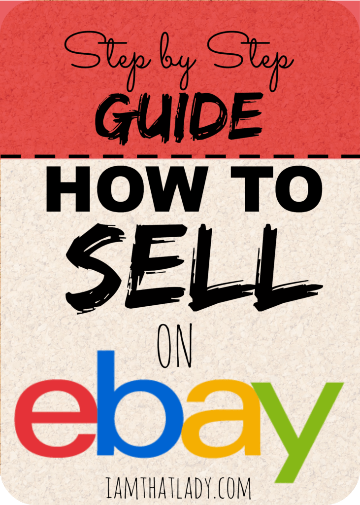 Are you thinking of ways to make extra cash? Have you ever thought about selling items on ebay?  Check out how to do that here.