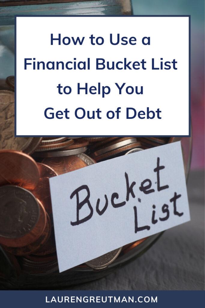 financial bucket list