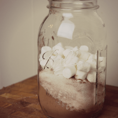 homemade cinnamon hot chocolate mix