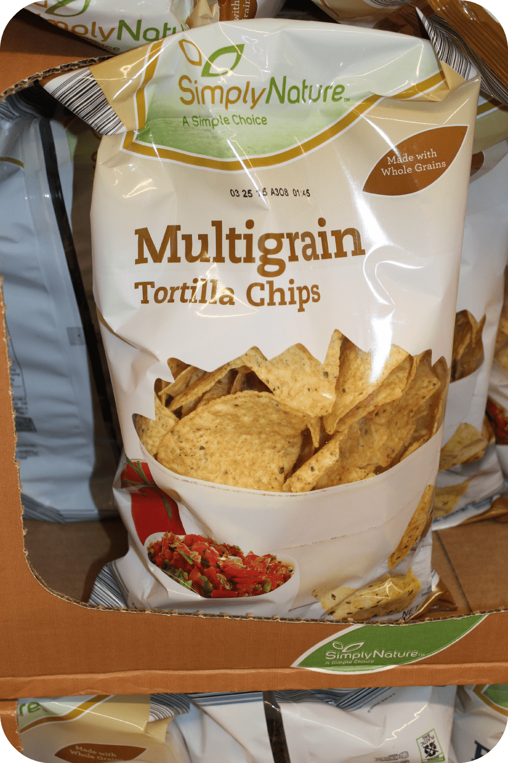 multi-grain tortlla chips
